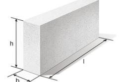 Расчет блоков для строительства