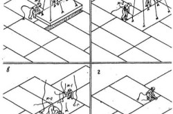 Схема монтажа панели перекрытия