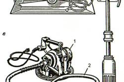 Схема переносных вибраторов
