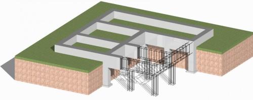 Схема строительства столбчато-ленточного фундамента