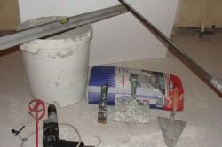 Инструменты и материалы для стяжки пола