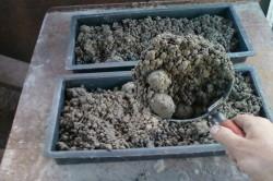 Приготовление бетона и его укладка в формы