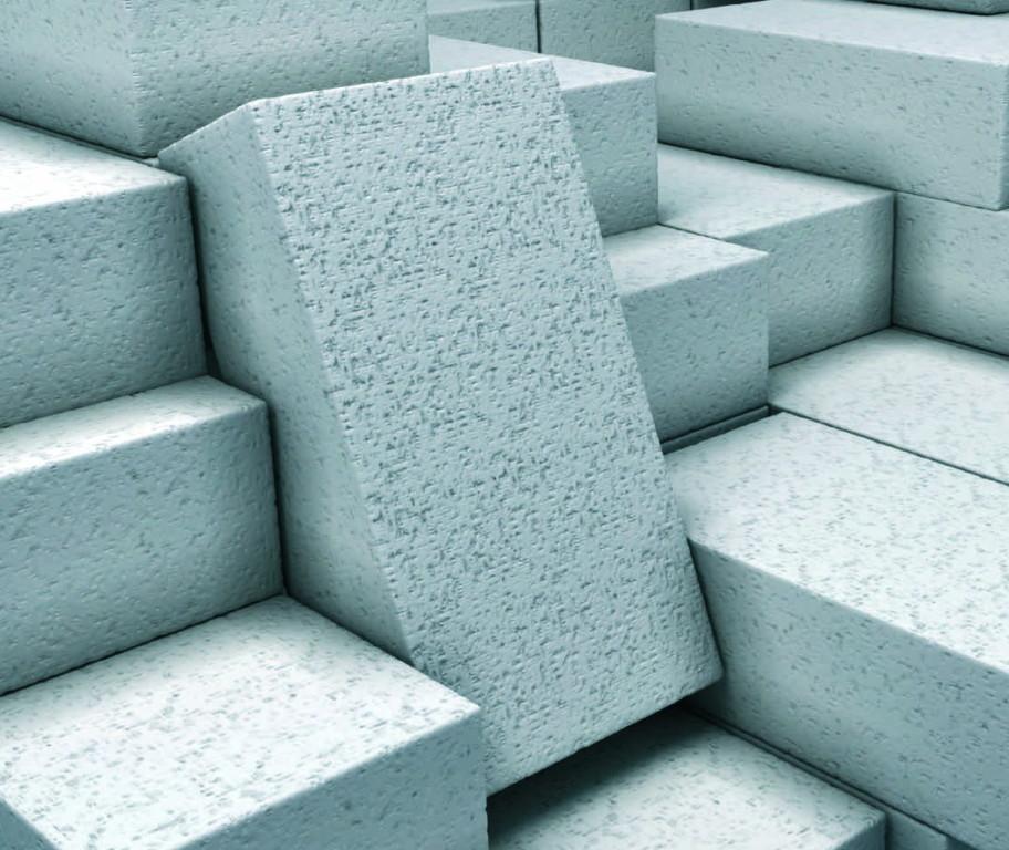 Газобетонные блоки.