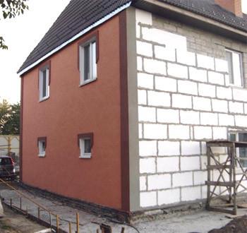 Дом из пенобетонных блоков