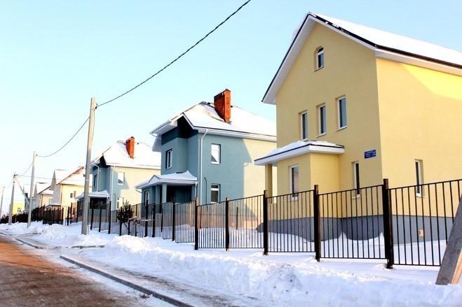 Оштукатуренные дома из газобетона