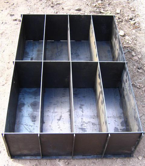 Форма для изготовления блоков