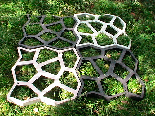 Форма для изготовления тротуарной плитки