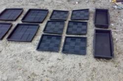Формы для бетонных плиток