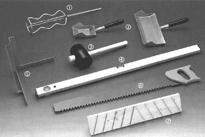 Инструменты для кладки пеноблока