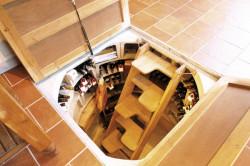 Круглая форма погреба в доме