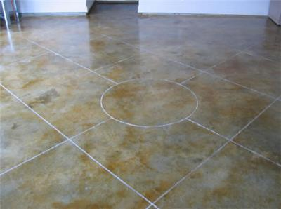 Лакировка бетонного пола