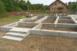 Ленточный фундамент в малоэтажном строительстве