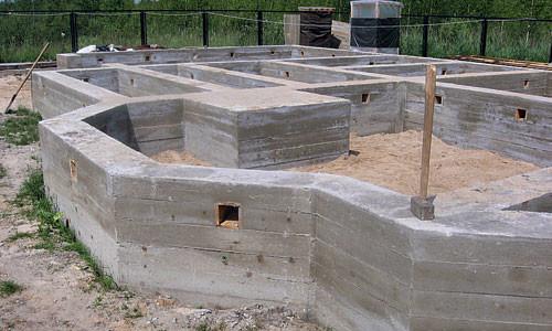 Фундамент на пучинистом грунте