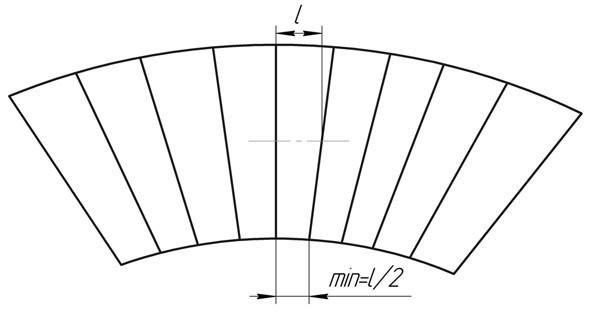 Выбор параметров спиральной бетонной лестницы