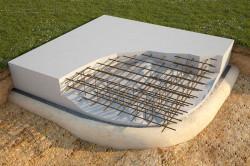 Армированная плита фундамента
