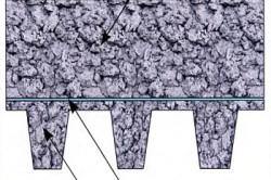 Устройство перекрытий из монолитного пенобетона