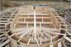 Строительство бассейна подразумевает обязательное строительство опалубки.