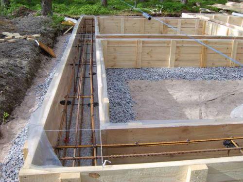Для повышения прочности и надежности фундамента рекомендуется армировать опалубку.