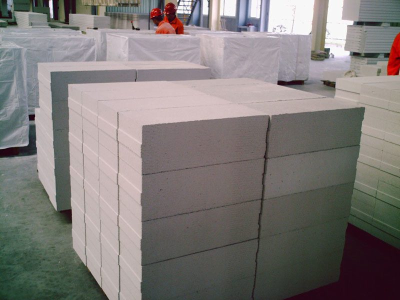 Блоки из вспененного бетона
