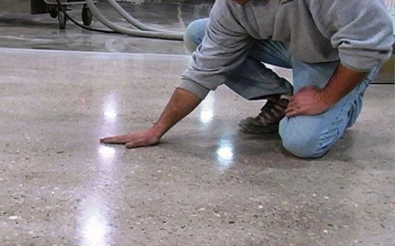 Преимущества полировки бетона