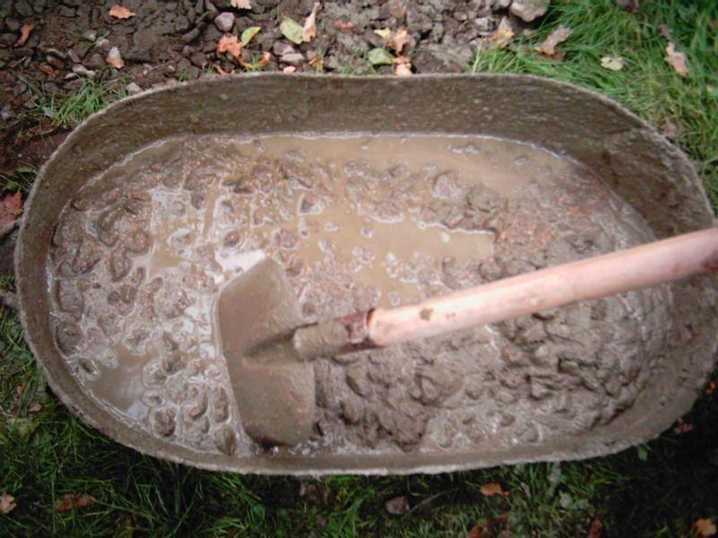 Раствор для бетона