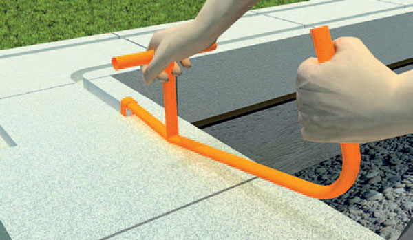 Для газобетонных конструкций вполне достаточно использовать ручной штроборез.