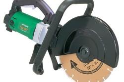 Ручной штроборез рекомендуется использовать для резки материалов на ровной горизонтальной поверхности.