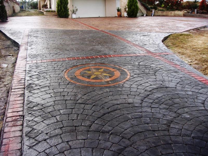 Преимущества штампованного бетона