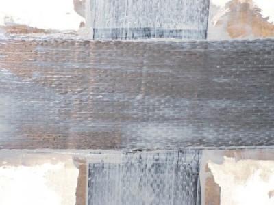 Усиление углепластиком плиты перекрытия