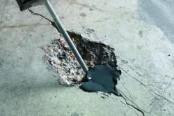 Заделка трещин в бетонной стяжке