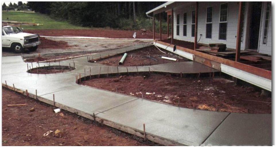Kakšna blagovna znamka betona zapolniti dvorišče