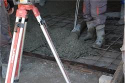 Подача бетона к месту работ
