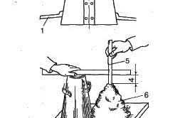 Схема ручного замеса бетона