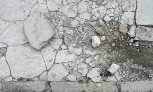 Уличный бетон