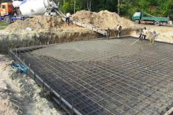 Затвердение бетона
