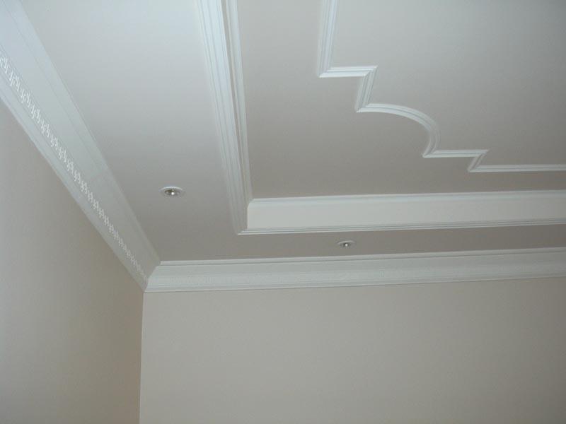 Бетонный потолок своими руками