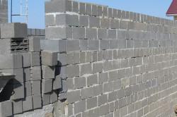 Несущие стены из полистиролбетонных блоков