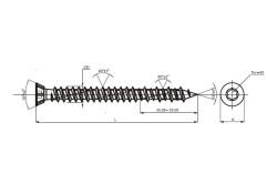 Саморезы для бетона выдерживают экстремальные нагрузки, используются для зон растяжения и сжатия, огнестойкие в течение 120 минут, для вкручивания можно применять ударный винтоверт.