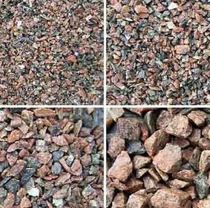 Для приготовления бетона используется бетон разных фракций.