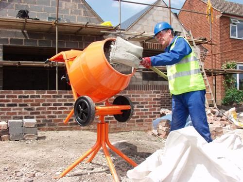 Процесс приготовления бетона