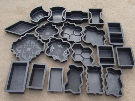 Готовые формочки для плитки