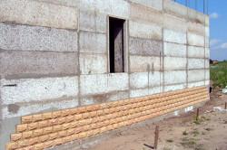 Стены из монолитного газобетона