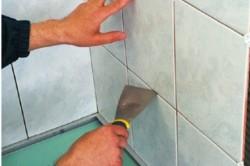Чем оттереть цемент с плитки