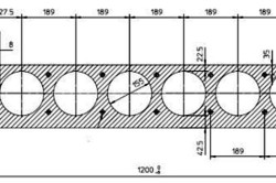Схема армирования пустотной плиты