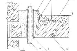 Схема плиты перекрытия