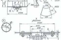 Схема растворомешалки
