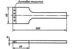 Схема шпателя для удаления цемента