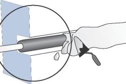 Схема штробления стены под электропроводку