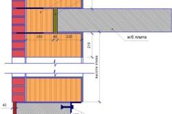 Схема установки монолитной плиты перекрытия