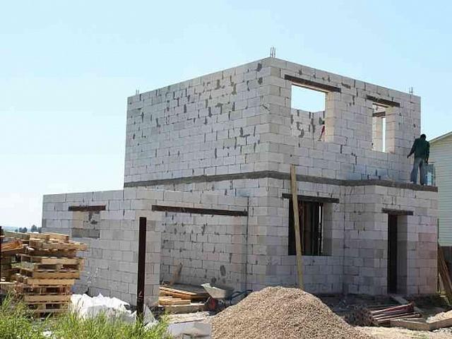 Дома из пеноблоков построить своими руками